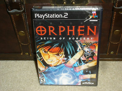 Orphen Scion of Sorcery PS2 factory sealed - Very Rare