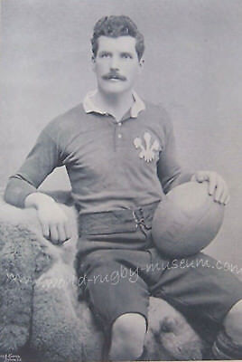 Arthur Gould Newport Wales Rugby Print