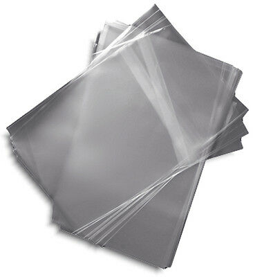 100-Pak =RESEALABLE= Plastic Wrap DVD Sleeves, for 14mm DVD Boxes!