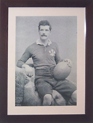 Arthur Gould Newport Wales Rugby Framed Print