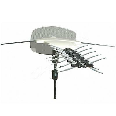 HDTV Outdoor TV UHF VHF Digital FM 2003 Antenna Aerial HD