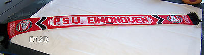 PSV Eindhoven Red Black Mens Jacquard Warm Football / Soccer Scarf New