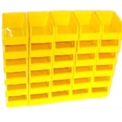 30 Size 1 Yellow Parts Storage Stacking Bin Bins Box