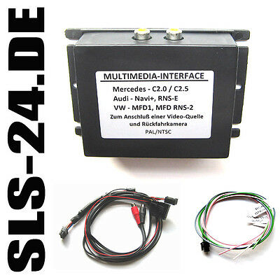 Multimedia Interface AV Audio Video + RFK Mercedes W203 W210 W220 Comand 2.0