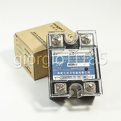 Solid State Relay SSR DC-DC 25A 3-32VDC/5-220VDC