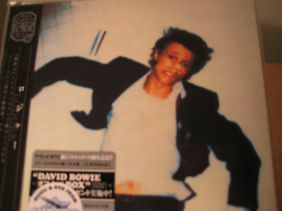 DAVID BOWIE LODGER RARE JAPAN Replica LP 2007 OBI CD SILVER STICKER ISSUE