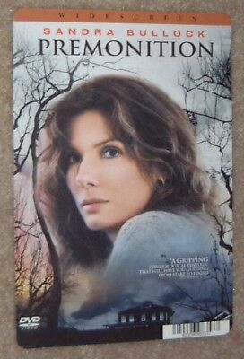 PREMONITION movie backer card SANDRA BULLOCK (this is NOT a dvd)