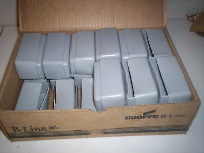 25 New Cooper B-Line Cplm-Ec10-Gray End Caps