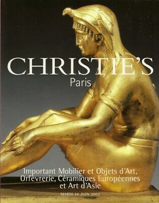CHRISTIE'S French Furniture Japanese Lacquer Lahmani Co