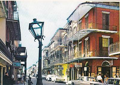 Old New Orleans PC Old Cars Street Scene French Quarter