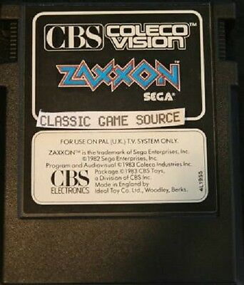 Zaxxon game for Colecovision COLECO Never played