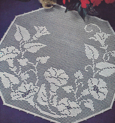VINTAGE Home Sweet Home Filet Panel//Doily//CROCHET PATTERN INSTRUCTIONS ONLY