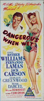 Dangerous when wet Esther Williams 1953 movie poster #3
