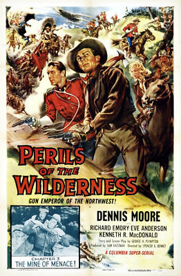 Perils of the wilderness Dennis Moore movie poster #12