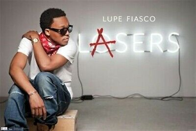 MUSIC POSTER ~ LUPE FIASCO LASERS Rap Hip Hop