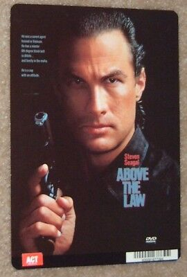 ABOVE THE LAW promo art card STEVEN SEAGAL
