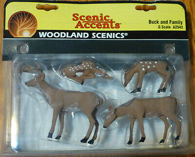 Woodland Scenics G Scale #2543  -  Buck & Family
