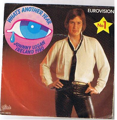 """Johnny Logan/eurovision """"what's Another Day"""" 7"""""""