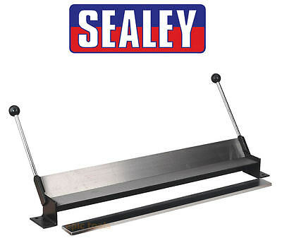 SEALEY DF760 Bench Mounting 17 Gauge Garage Sheet Metal Rod Folder Bender Former