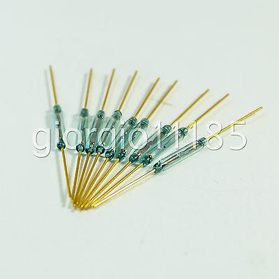 20x Reed Switch Glass N/O Low Voltage Current MKA14103
