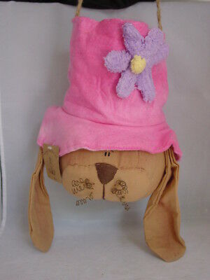 Bunny Rabbit Goody Holder ~ Honey & Me Primitive Easter