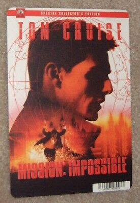 MISSION IMPOSSIBLE promo art card TOM CRUISE