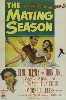 The Mating season Gene Tierney movie poster #5