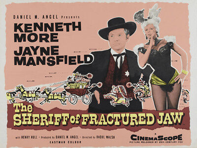 The sheriff of fractured jaw Jayne Mansfield poster #2