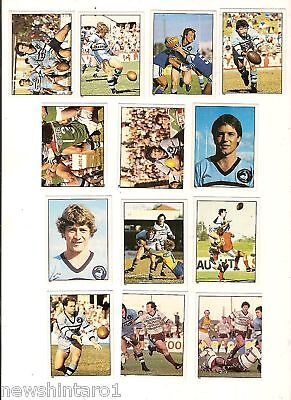 1983 Rugby League Stickers - Cronulla  Sharks