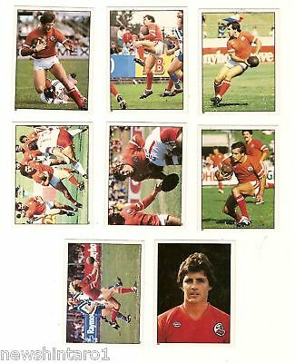 1983 Rugby League Stickers - Illawarra Steelers