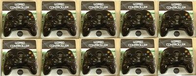 10 LOT Black Controllers Control Pad Compatible for Original XBOX Wholesale