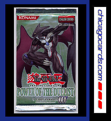 YuGiOh TCG Power of the Duelist 9cd Sealed Booster Pack