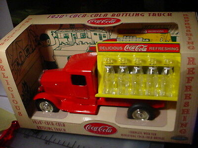 Coca Cola- Coke 1930'S Delivery Truck With Mini Bottles