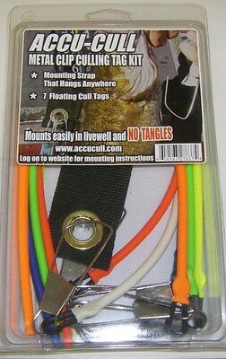 Accu Cull Accucull Culling Tag Kit Tournament Metal Stringer clips 7 tags