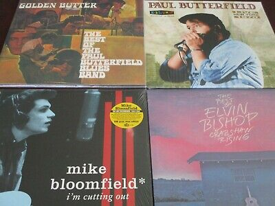 Paul Butterfield Blues Band Best Of + Mike Bloomfield & Bishop 4 Lp Set + Sacd
