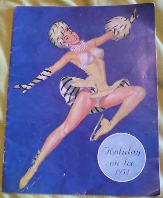 Programme Holiday on Ice 1954