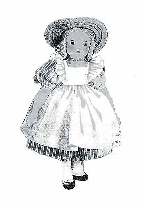 1940 Edith Flack Ackley's Greet A Little Girl Pattern