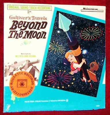 Ost Lp Gulliver's Travels Beyond The Moon Milton Delugg 1966 Wainstream Sealed