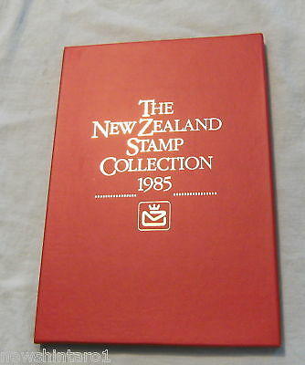 New Zealand Mint Stamp Po Collection - 1985