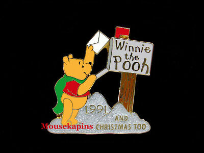 Winnie the POOH and CHRISTMAS Too Disney 2001 Pin