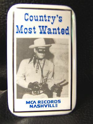MCA Records Nashville - COUNTRY'S MOST WANTED Button
