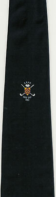 Cardiff Rfc Golf Day 1983 Wales Rugby Tie With Coa