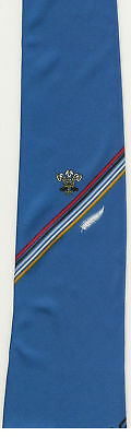 WALES v NZ 1989 RUGBY TIE WITH COA BILL CLEMENT
