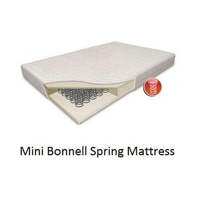 Quilted Spring Cot Bed / Junior Bed Mattress (140x69cm)