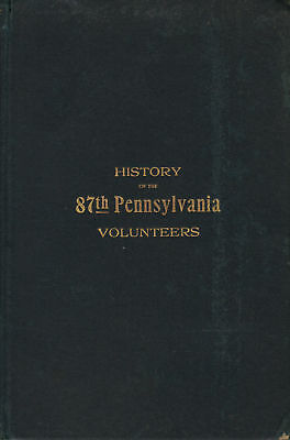 History of the 87th Pennsylvania Volunteers--1901