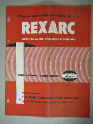 Rexarc Hard Facing And Manganese Electrodes