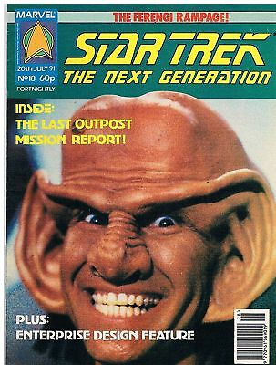 Star Trek The Next Generation Magazine No.18 / 1991