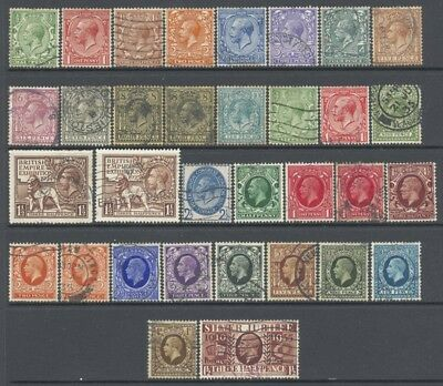 Great Britain GB 1912-36 King George V Better Selection Used £199.75