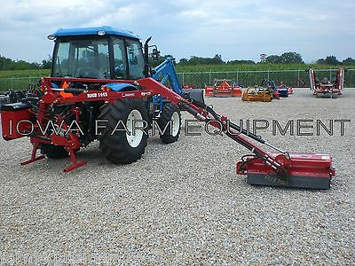 "Flail Boom Mower: Bush Hog RMB1445-1, Tractor 3-Pt,PTO Powered,39"" Cut,14' Reach"