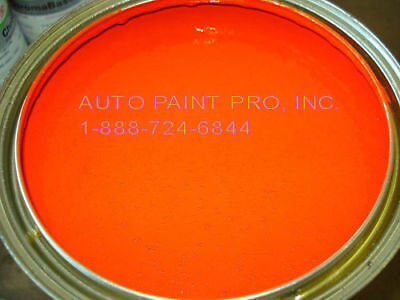 Hugger Orange acrylic enamel single stage auto body shop restoration car paint